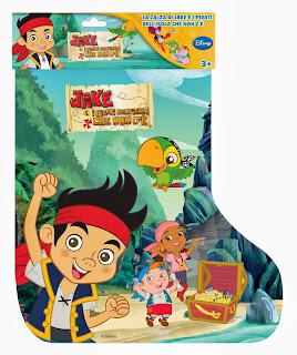 Calza Jake 2014 Pirati Isola che non c e Befana regali giocattoli sorpresa contenuto prezzo