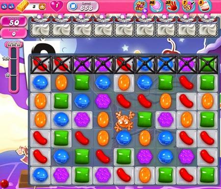 Candy Crush Saga 658