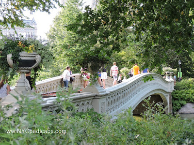 10 must see Places at Central Park by pedicab tours