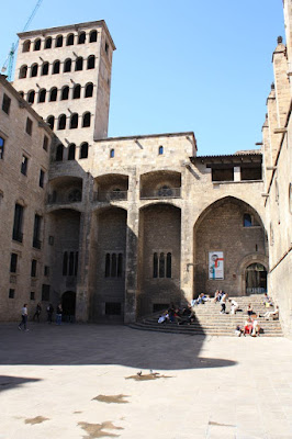 Palau Reial in the Barcelona Gothic Quarter