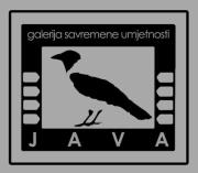 """JAVA"" Gallery of Contemporary Art Sarajevo"