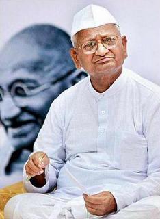 Who is Anna Hazare
