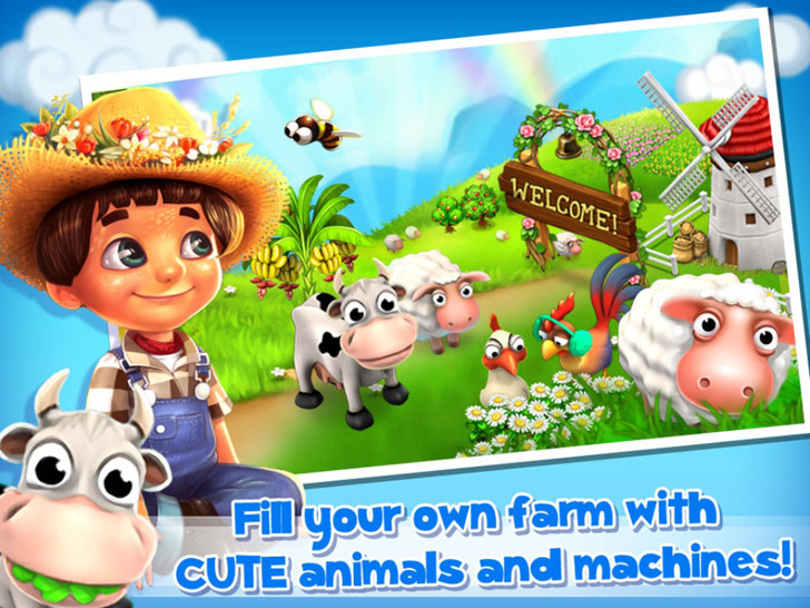 Family Farm Seaside App iTunes App By Fun+ - FreeApps.ws
