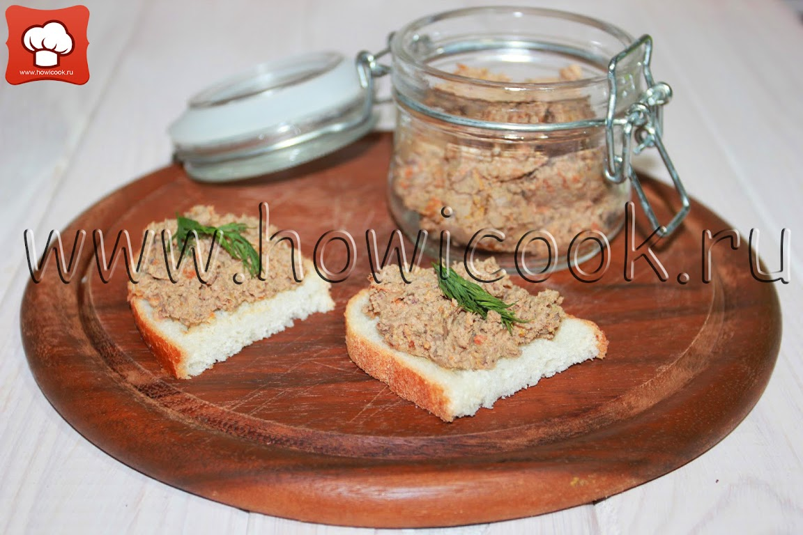 Патэ рецепт пошаговый с фото