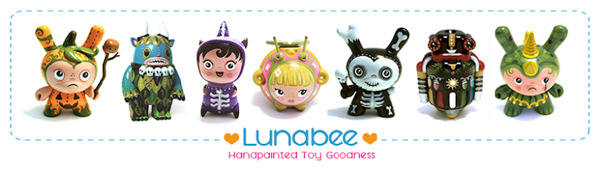 Lunabee: custom vinyl toy art