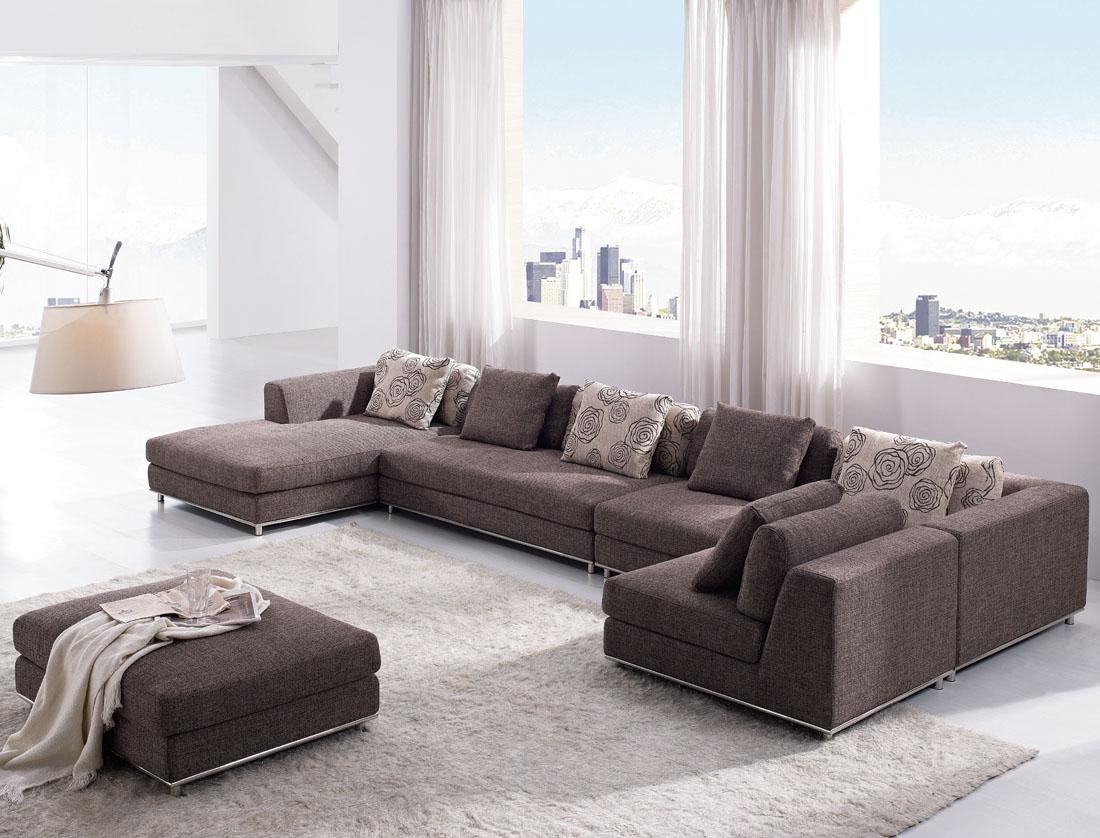 Modern Living Room Sectional 1100 x 838