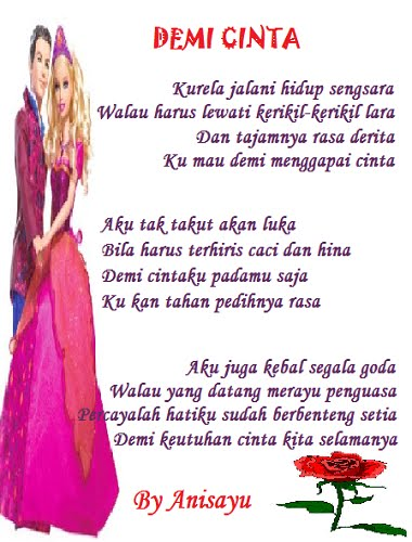 Demi Cinta' By Anisayu