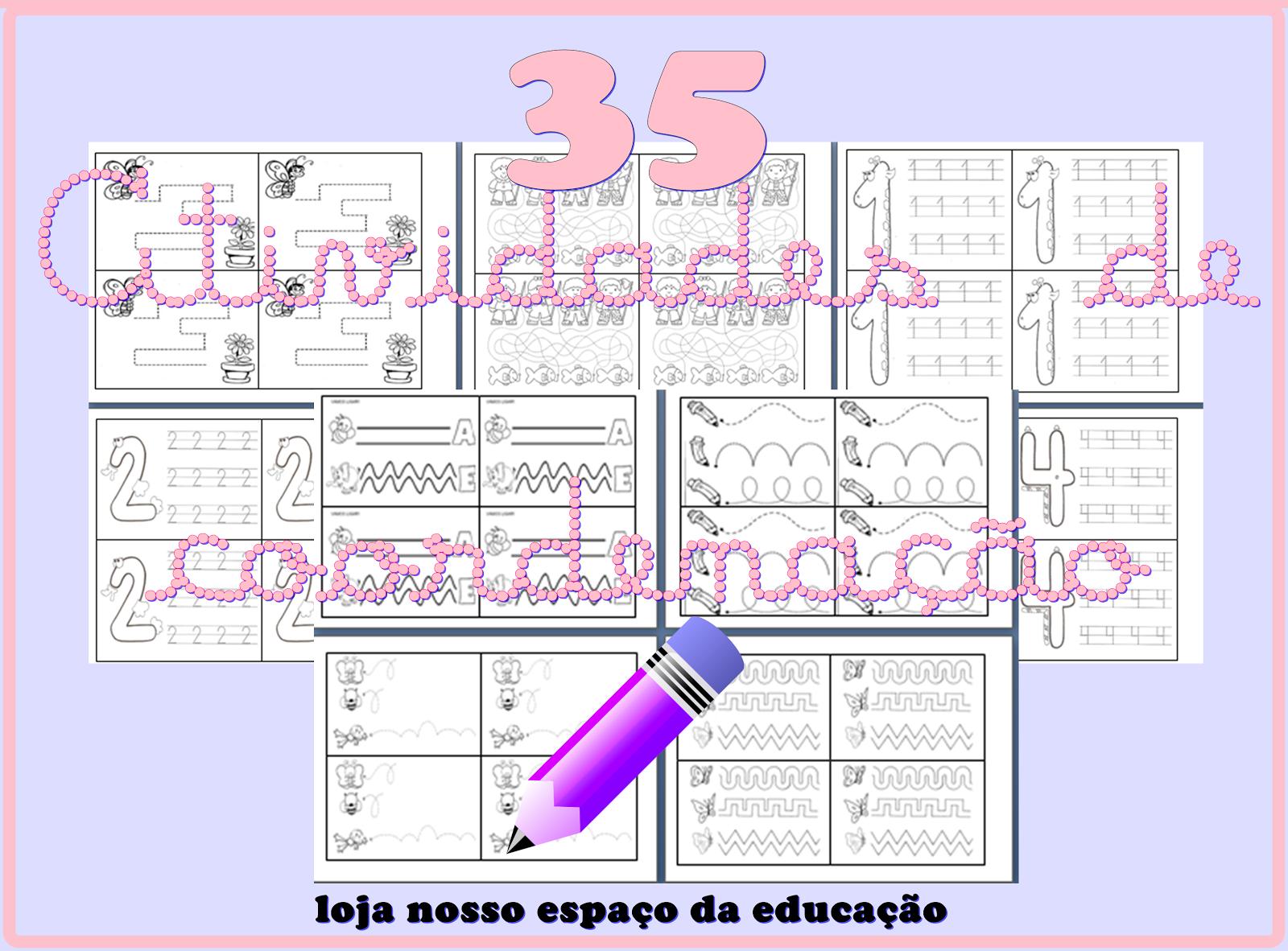 35 atividades de coordenação motora fina