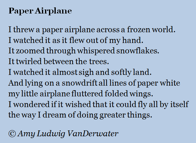 The Poem Farm: Paper Airplane - Flying with Alliteration