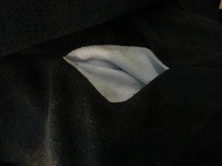 Innentasche aus Fleece
