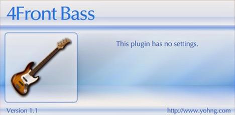 4Front Bass - Plugin VST de Baixo Grátis