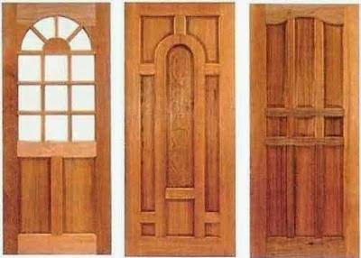 Demikianlah beberapa bentuk desain pintu rumah cantik terbuat dari ...