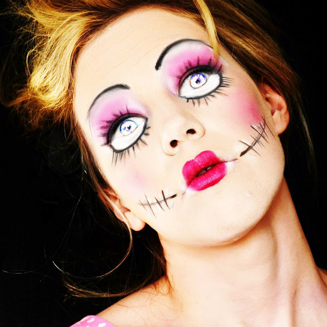 idee make up halloween