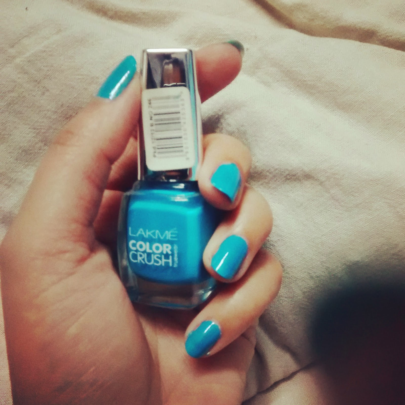 Lakmé True Wear Color Crush- Blue 27 Reviews And Swatches