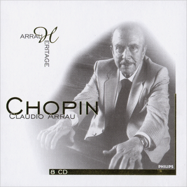 Frédéric Chopin - Piano Works · Claudio Arrau · (8 CD's)