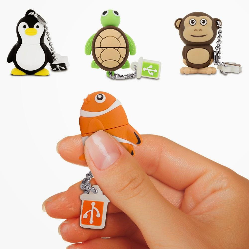 10 memorias USB divertidas