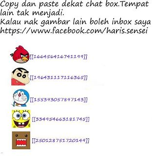 Apo Dah Jadi: Trick Simbol Smile Angry Birds Di Facebook Chat SUPER