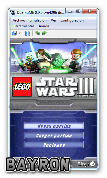 LEGO Star Wars III The Clone Wars [Español] [NDS] [DF]