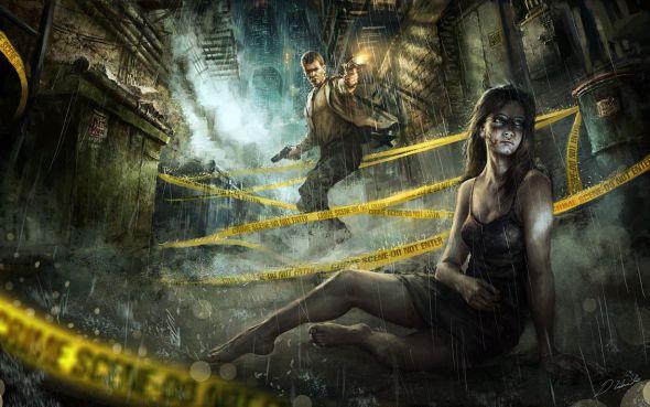 Darek Zabrocki daroz deviantart ilustrações arte conceitual fantasia games Vítima fantasma