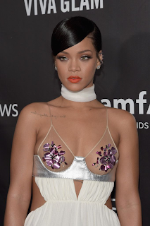 Fashion Icon! Rihanna Stuns at 2014 amfAR LA Inspiration Gala in Hollywood