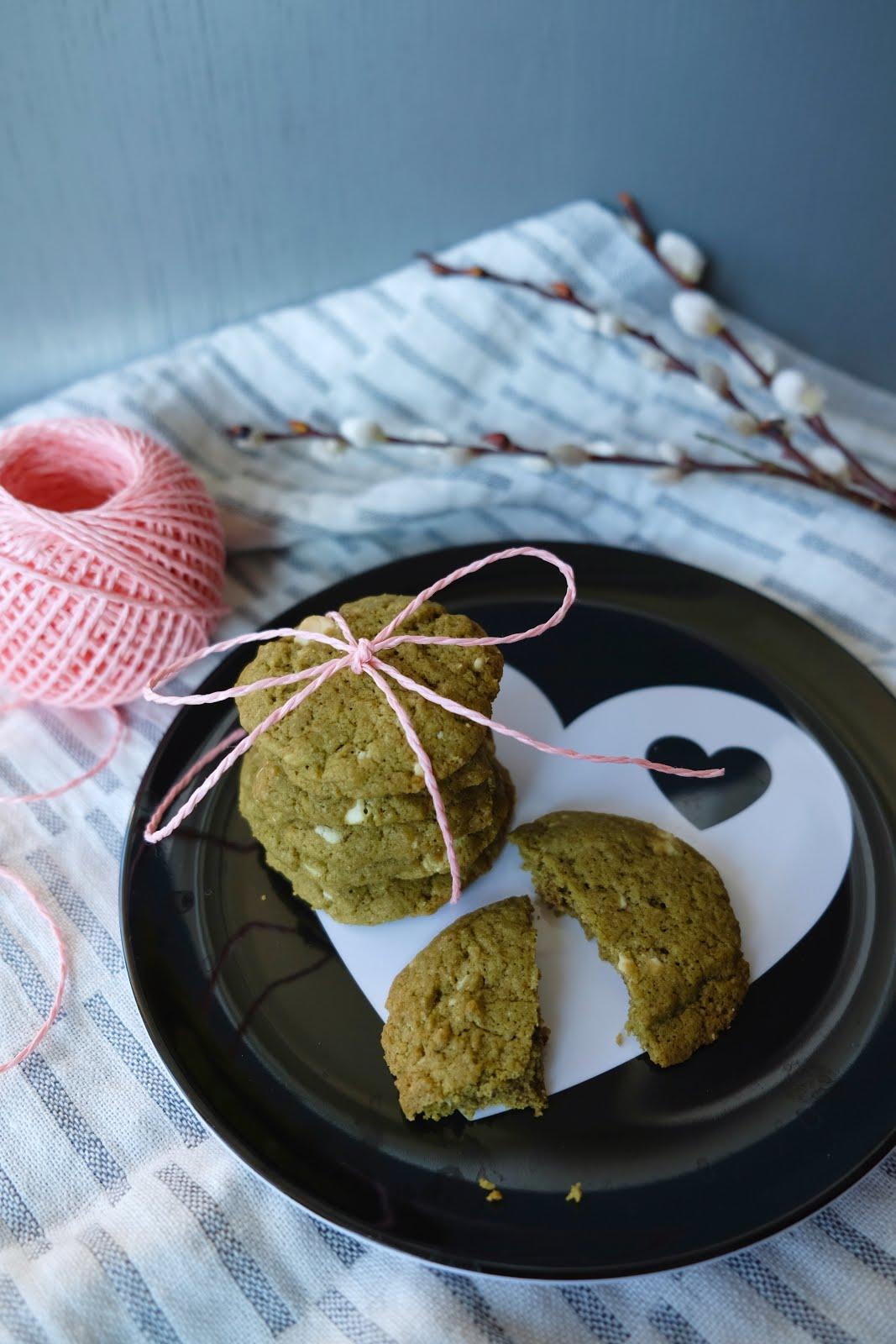Schoko-Matcha-Kekse