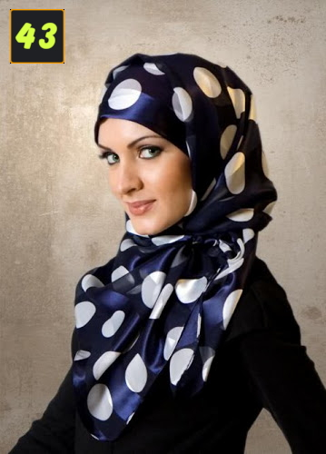 Latest Islamic Hijab Veil Fashion Trends 2013 In Muslim Girls ...