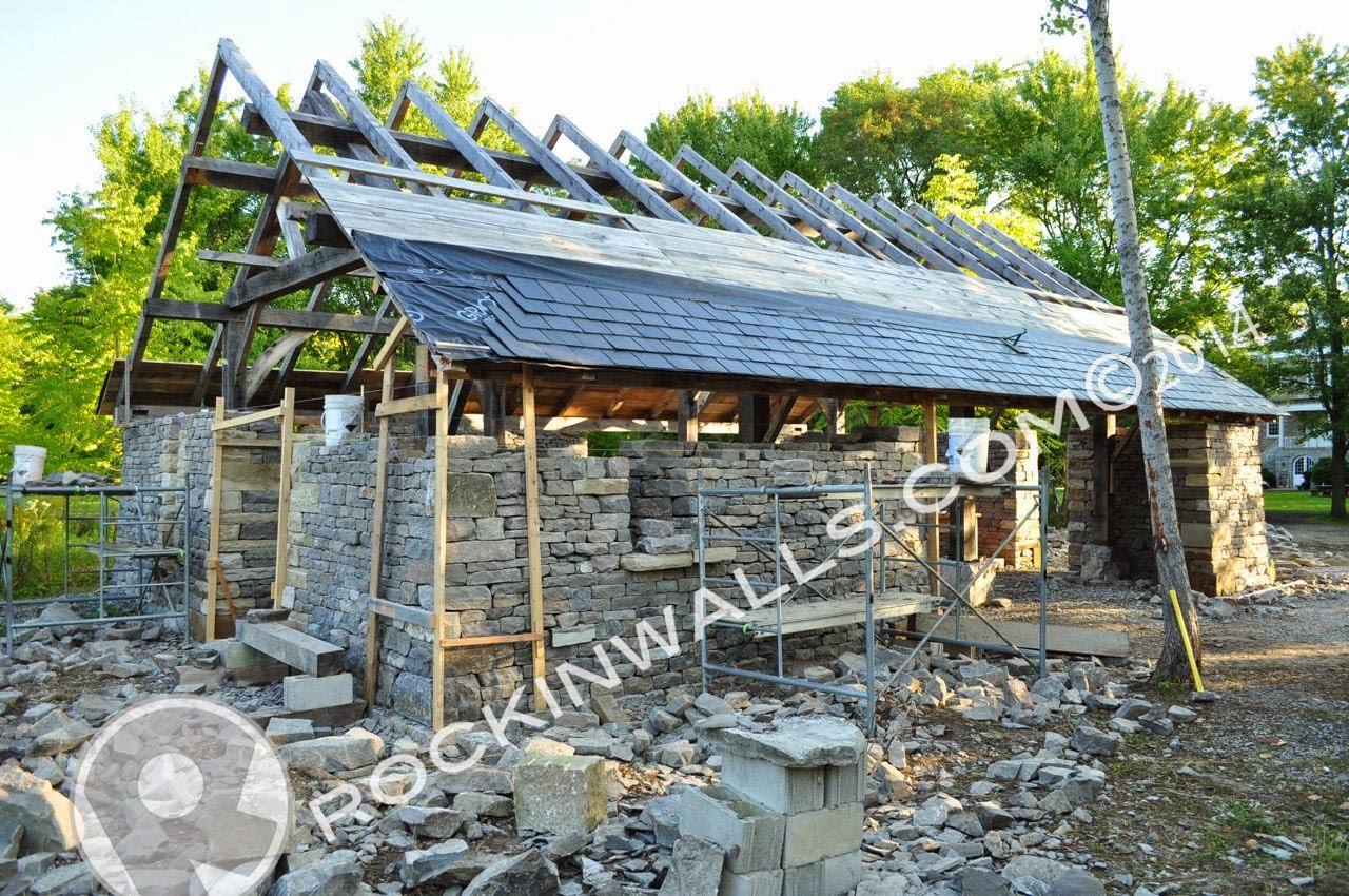 Amish Stone Masons : Rockin walls dry stone blacksmith building