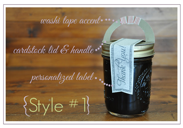 Four Fun DIY Ways to Package Mason Jar Favors ~ Free Printable Labels!