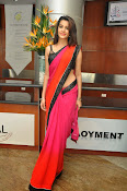 Deeksha panth sizzling saree stills-thumbnail-10