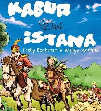 "Novel anak-anak ""Kabur dari Istana"" Rp. 26.000,-"