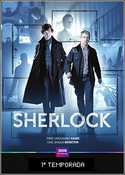Download Sherlock 1ª Temporada AVI RMVB Legendado