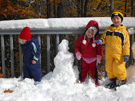 October New England snow fall!