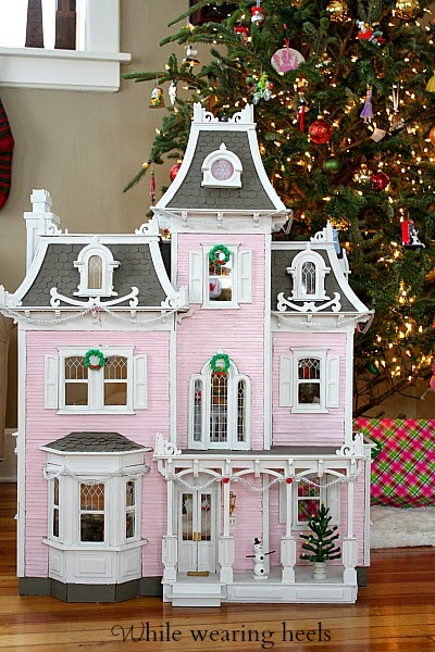 While Wearing Heels: Christmas Dollhouse