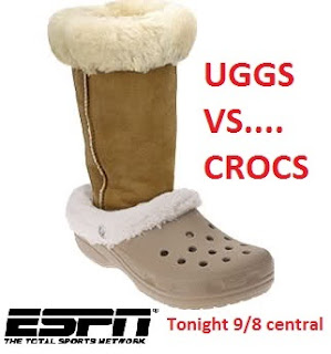 Uggs vs Crocs Ugly shoes