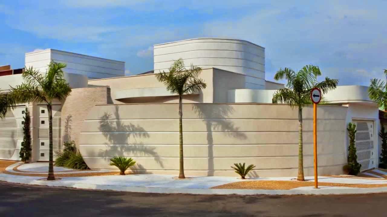 Muros de casas simples e modernas modelos de muros for Fachadas de frente de casas