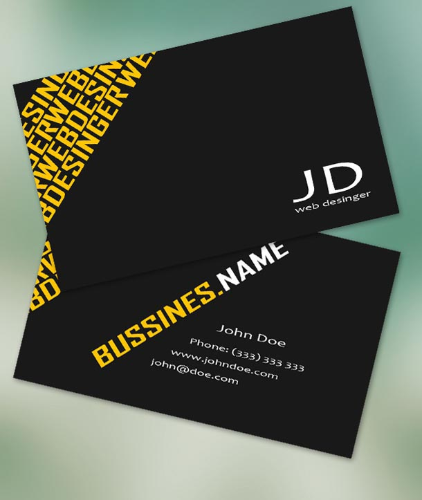 Best Free Business Card Templates JayceoYesta - Free business card design templates