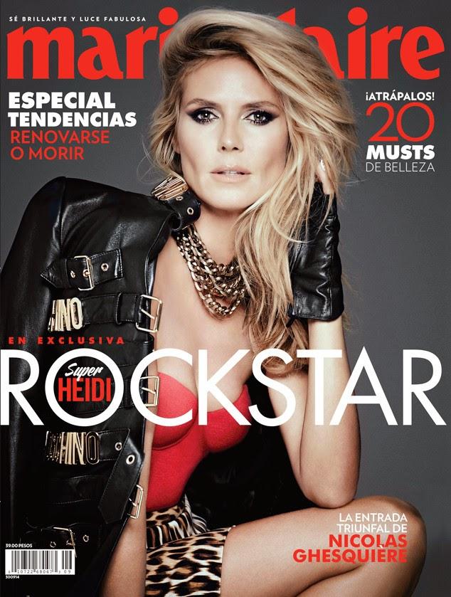 Heidi Klum - Marie Claire Magazine, Mexico, September 2014