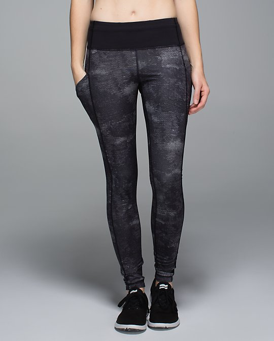 lululemon speed tight snake skin