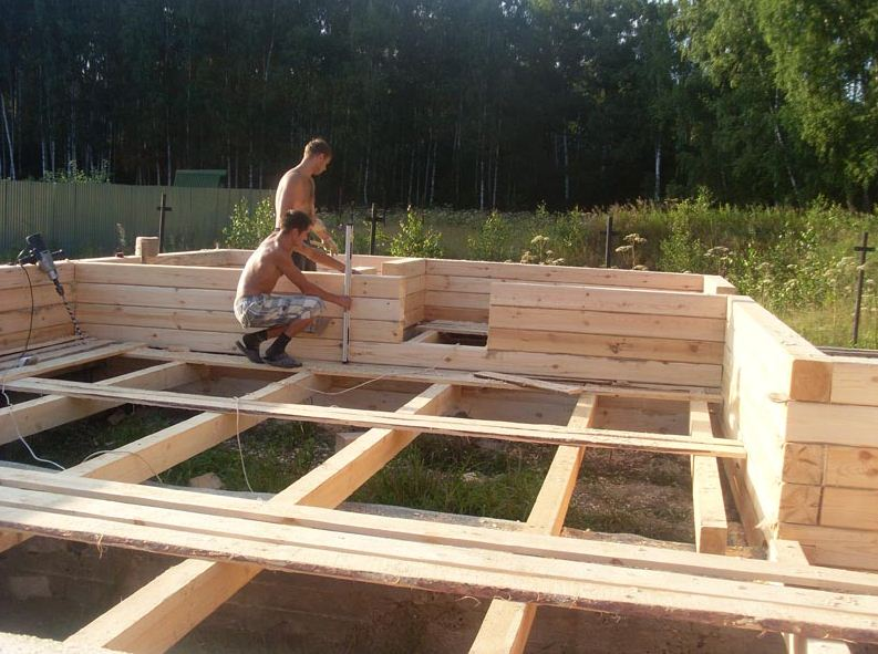 Построить дом с нуля из бруса