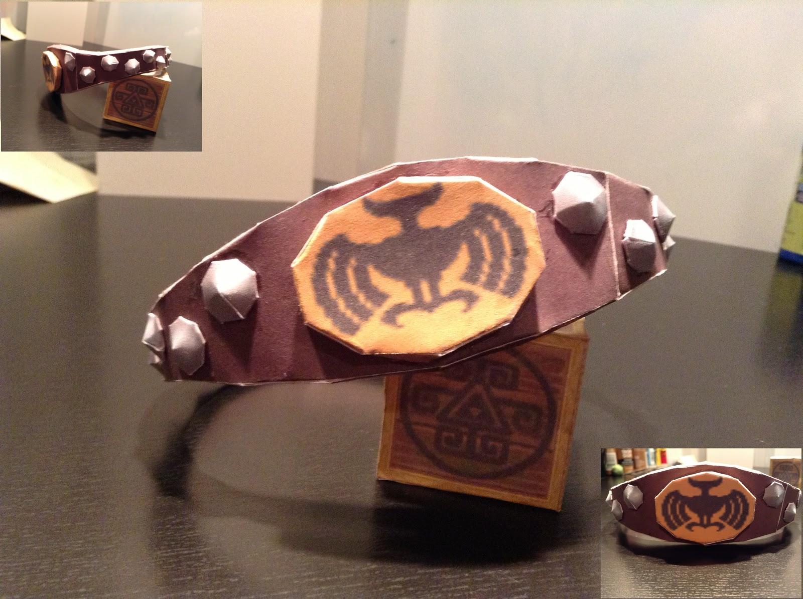 Knight's Crest Papercraft
