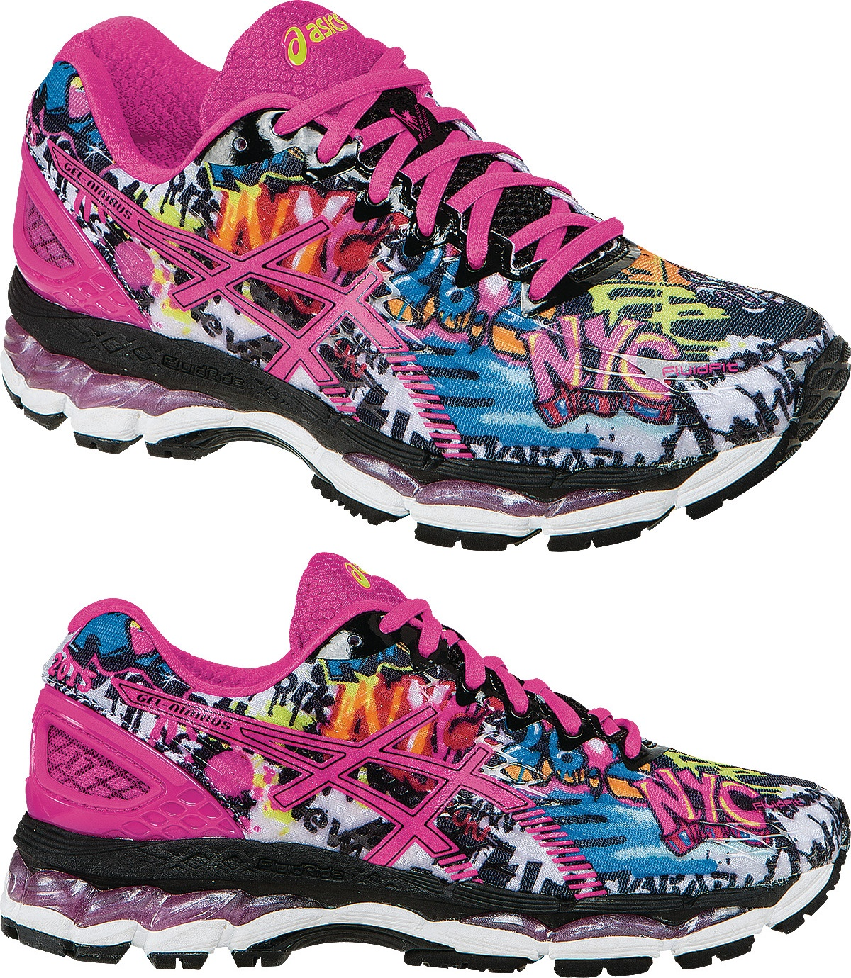 asics gel-nimbus 17 nyc edition womens slippers