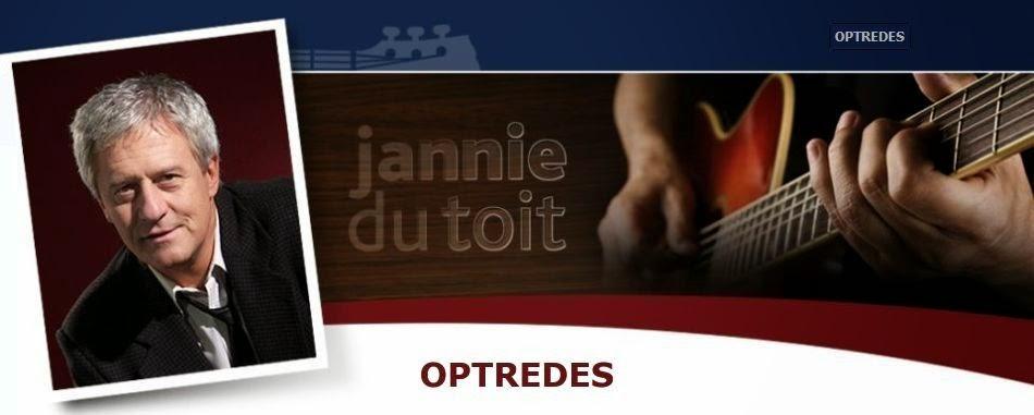 Jannie du Toit - Optredes