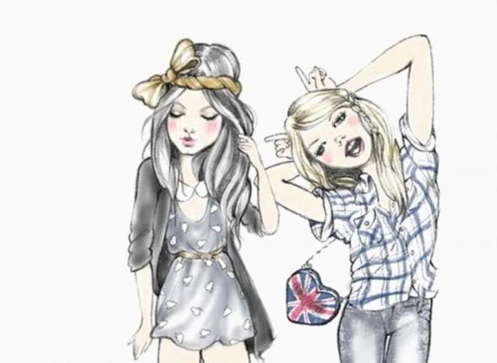 melhores desenhos de amiga www