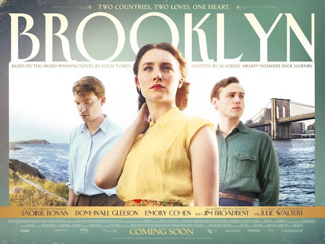 Brooklyn film poster staring Saoirse Ronan