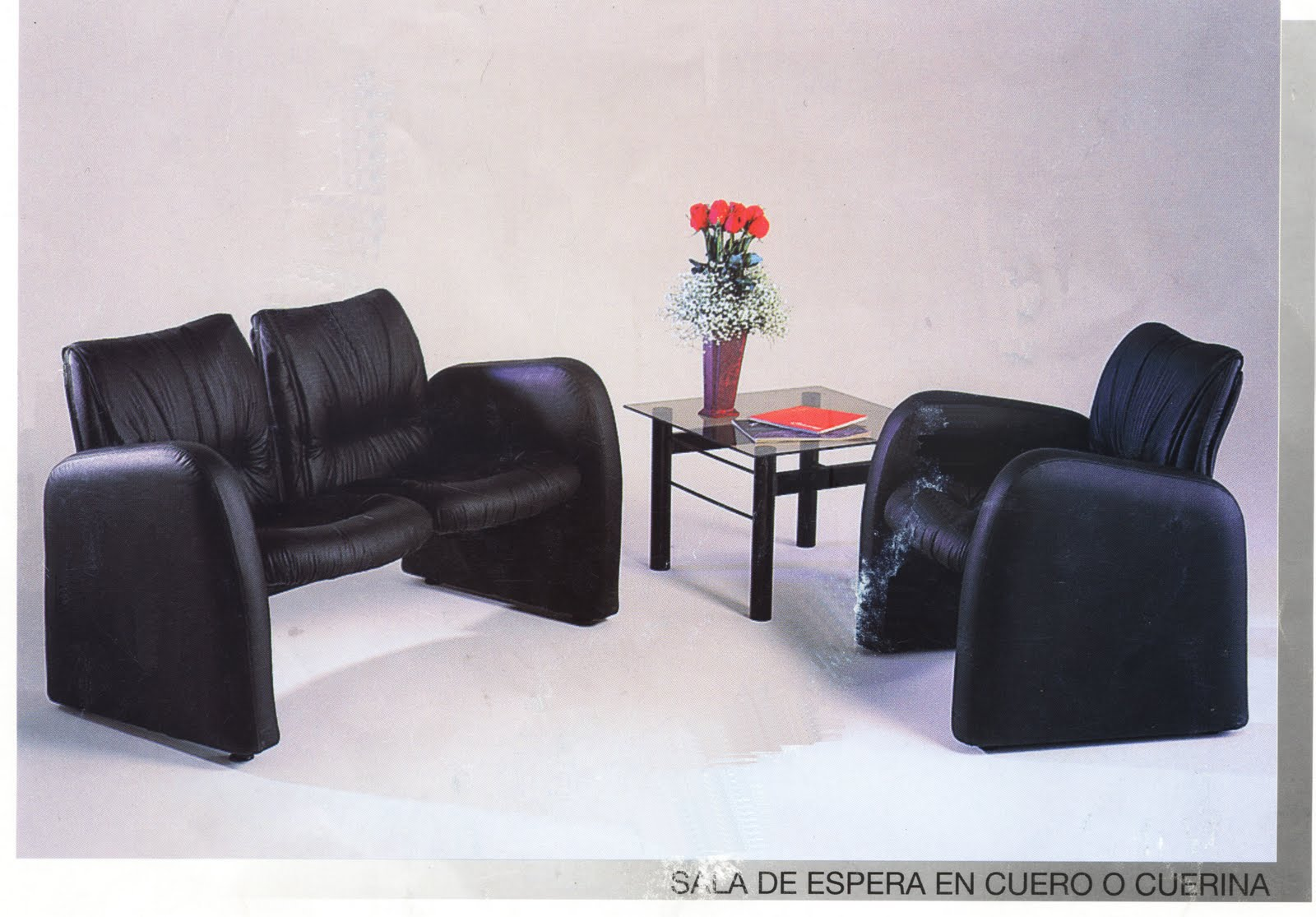 Muebles de oficina juego de sala de espera para oficina for Juego de muebles de sala