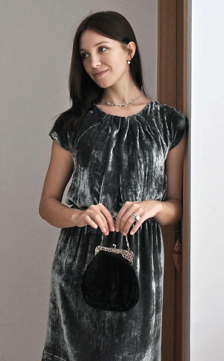 Бурда бархат платья
