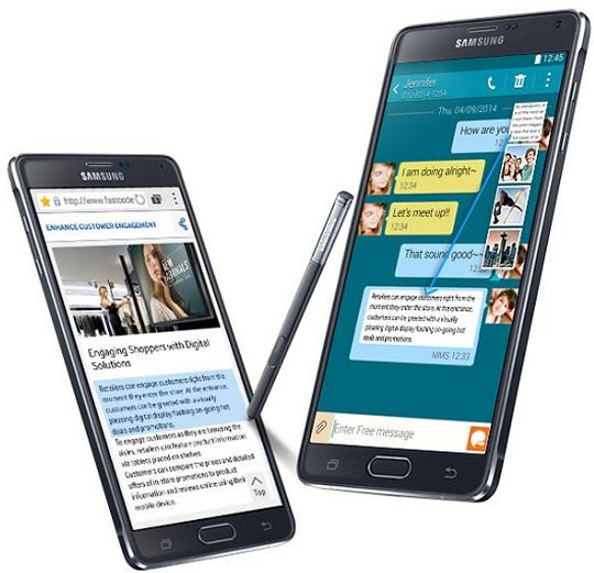 Harga spesifikasi samsung galaxy Note 4 terbaru 2015