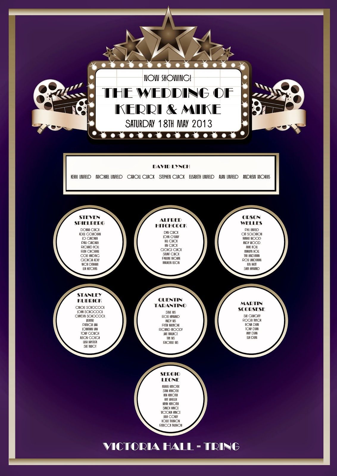 An Art Deco Movie Themed Wedding! - Knots & Kisses Wedding Stationery