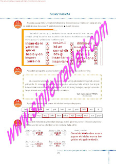 6.Sinif  Turkce Doku Yayinlari Ogrenci Calisma Kitabi Sayfa 29