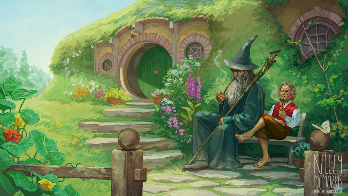 Lord Of The Rings Art Prints Frodo